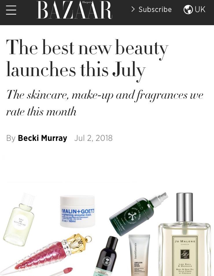 Harper's Bazaar UK | July 18