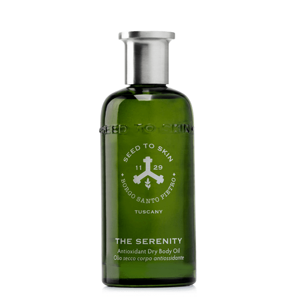 The serenity body oil